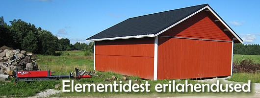 Elementhooned - elementehitised - elementmajad